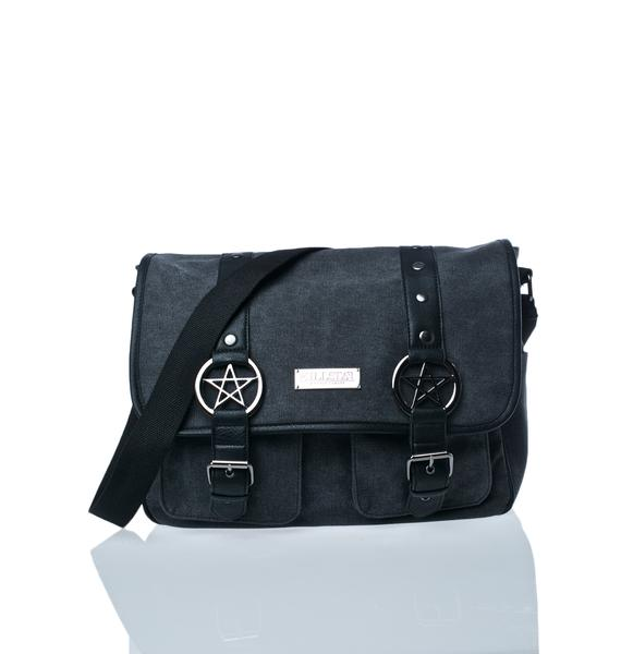 Killstar Ritual Ring Messenger Bag