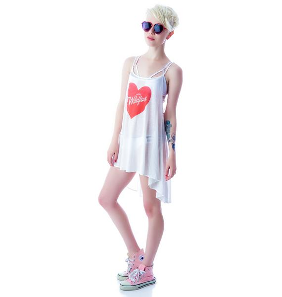 Wildfox Couture Pin-Up Heart Bell's Beach Dress