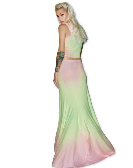 Rainbow Brite Maxi Verona Skirt