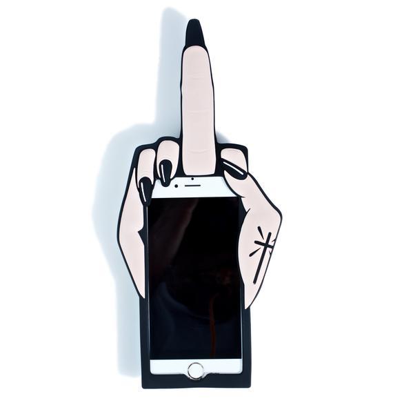 Current Mood STFU Phone Case