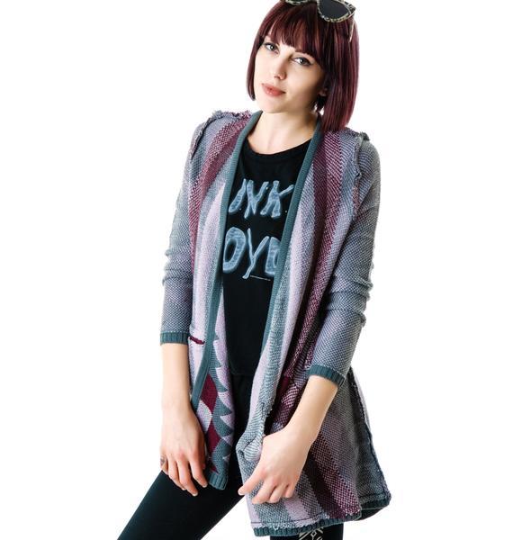 Chaser Guatemalan Cardigan Sweater