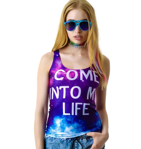 Come Into My Life Galaxy Tank