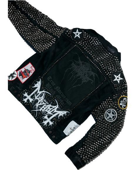 Vintage Deadstock Deathcrush Jacket