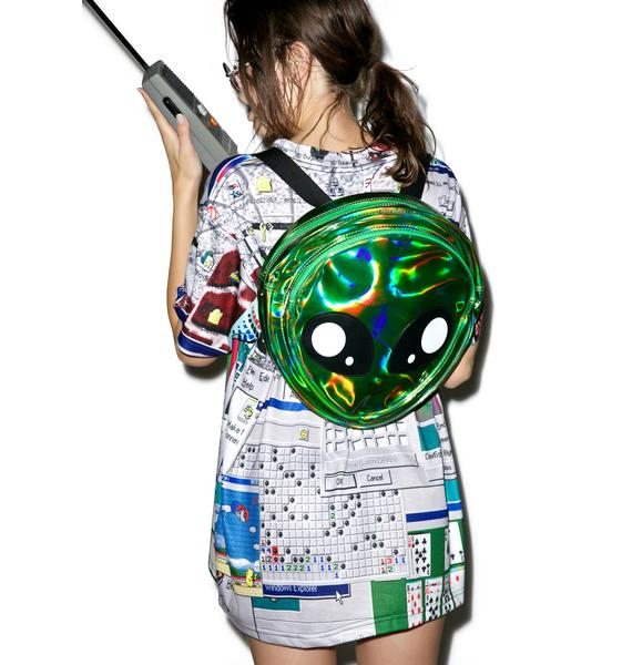 Alien Attack Backpack
