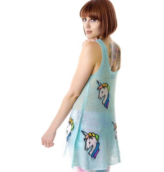 Wildfox Couture Starlite Star Bright Summer Lake Tank