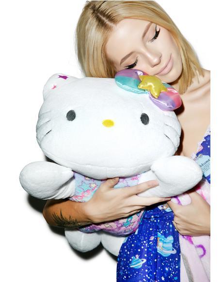 Pastel Pop Hello Kitty Huggable Pillow