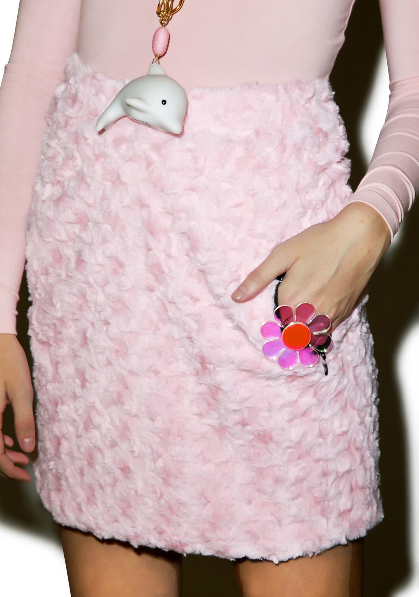 Little Sunny Bite Dolled Up Faux Fur Skirt