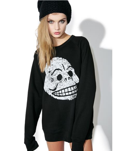 Rules Skull Sweatshirt