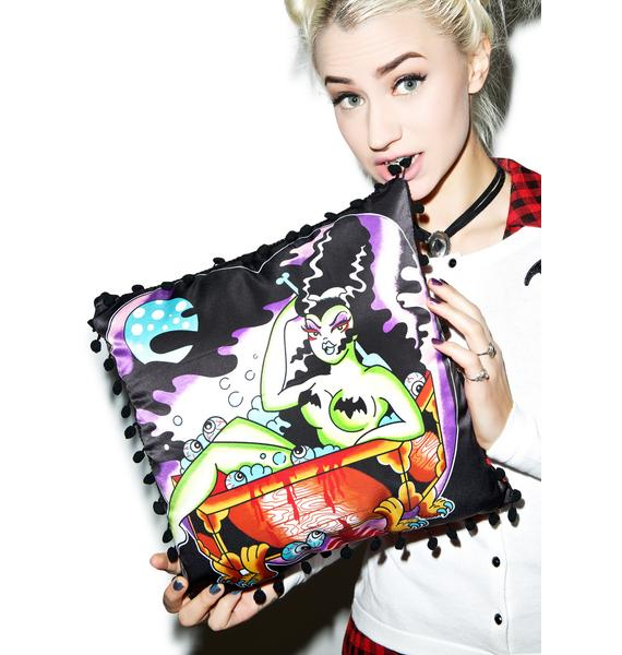 Sourpuss Clothing Tub Monster Pillow