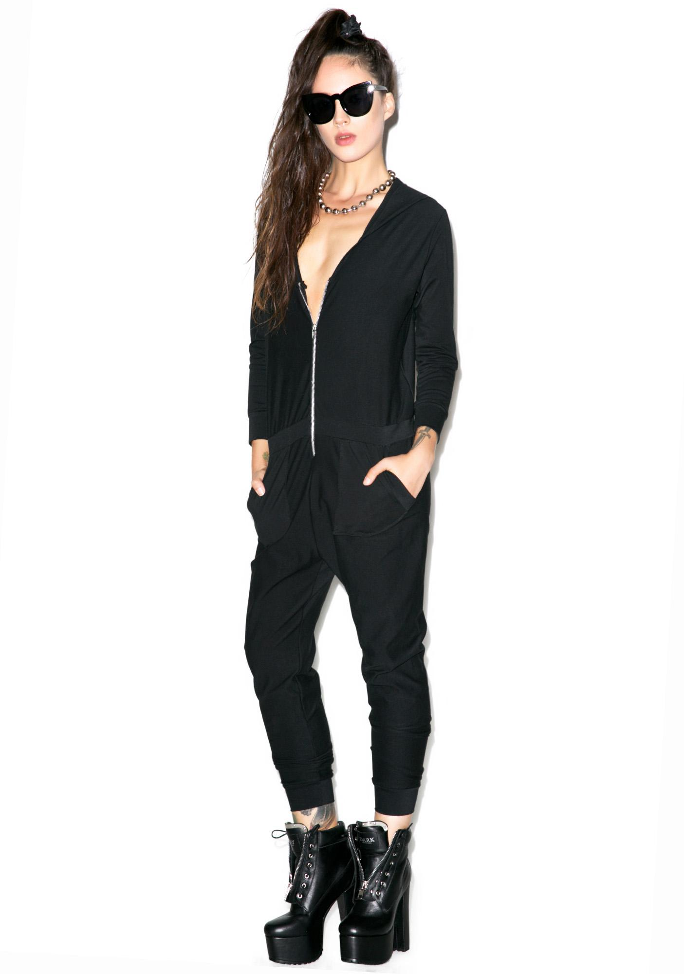 Castles Couture The Punisher Jumpsuit