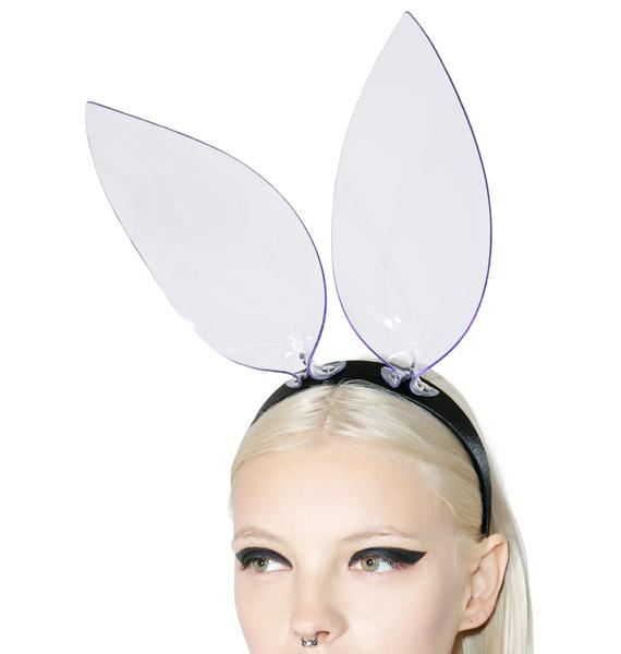 Club Exx Clearly Bunniez Ears