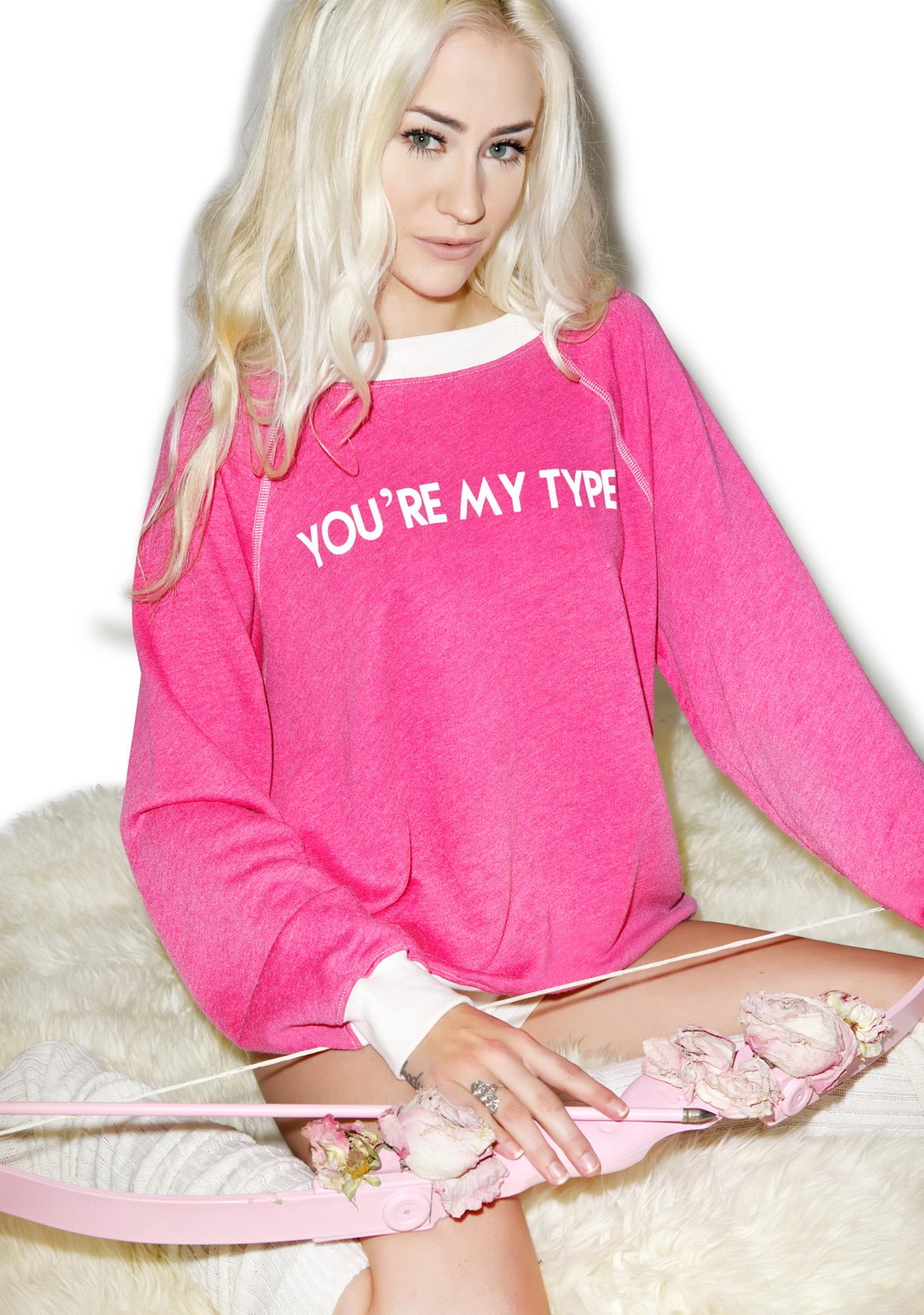 Wildfox Couture You're My Type Kim's Sweater