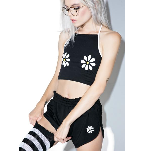 Camp Collection X Dolls Kill Double Daisy Bralette