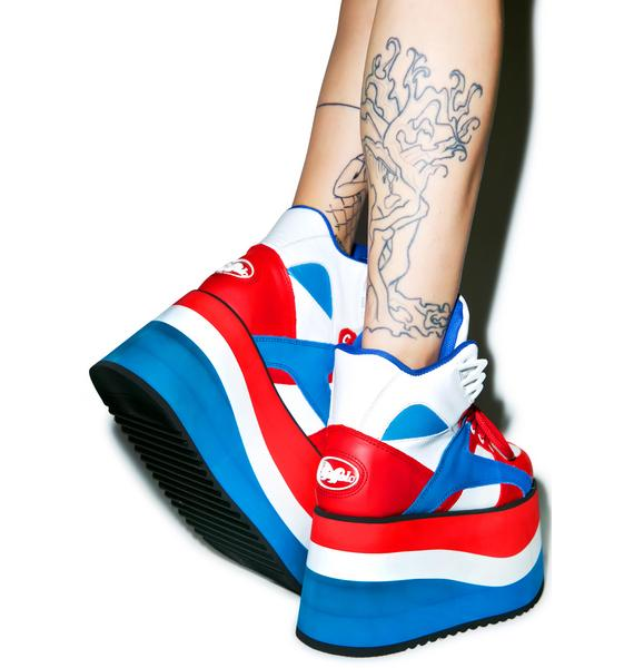 Buffalo Independence Bae Platform Sneakers