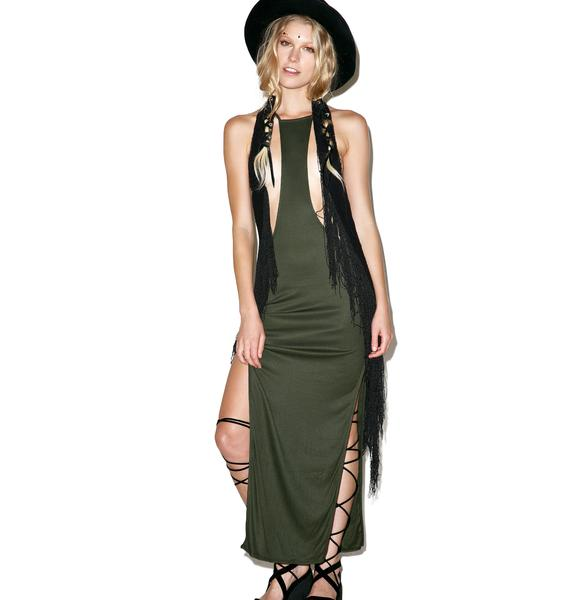 Indah Trev Wild Thing Maxi Dress