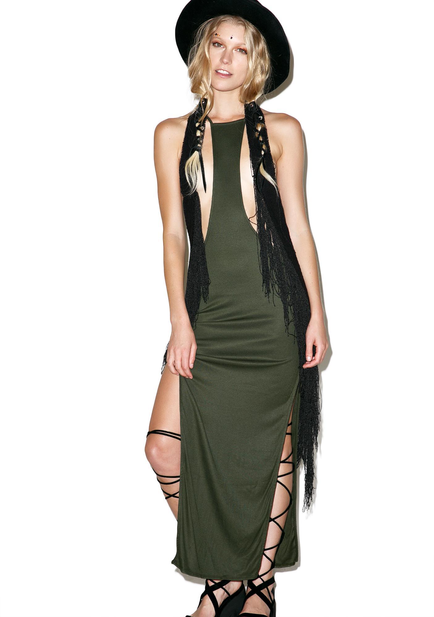 Indah Trev Wild Thing Maxi Dress