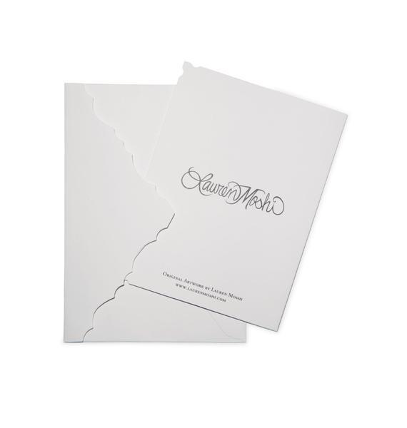 Lauren Moshi Love and Hugs' Teddy Bear Greeting Card