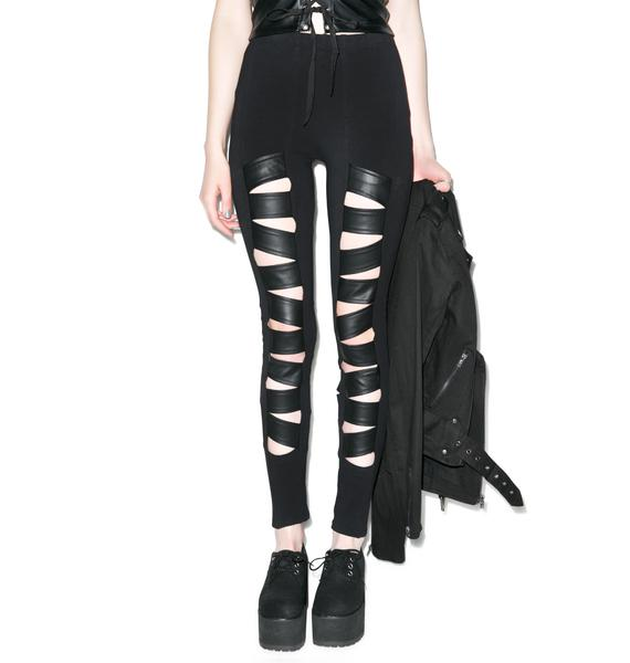 Tripp NYC Z-Cut Leggings