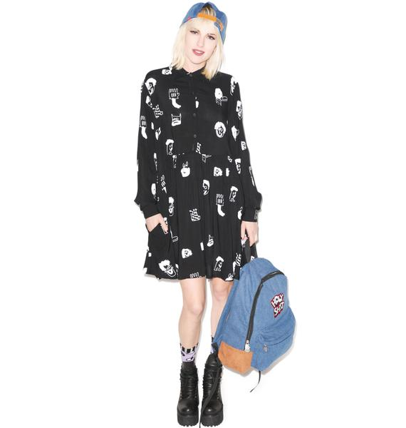 Lazy Oaf Lefty Dress