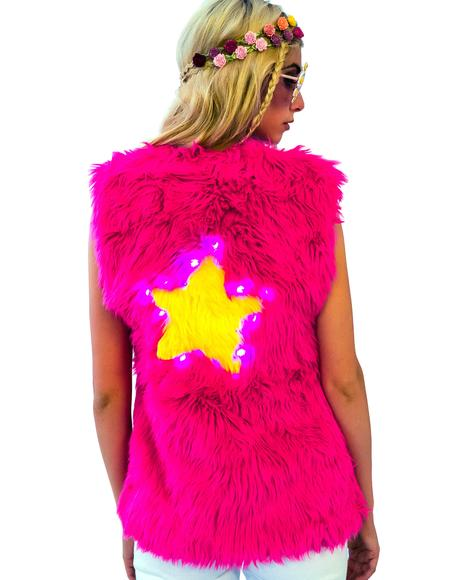Light Up Star Vest