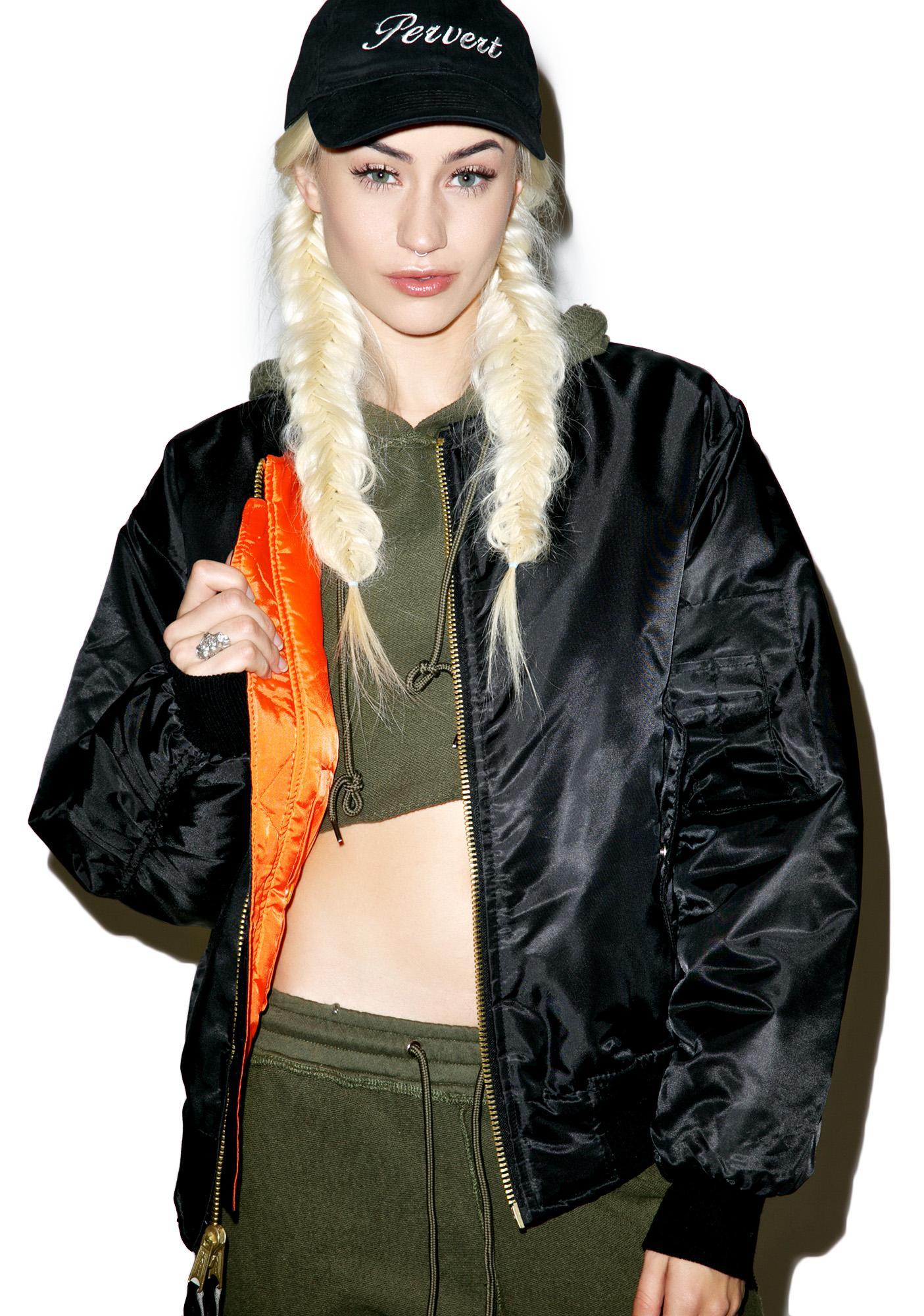 Danielle Guizio Baby Bomber Jacket