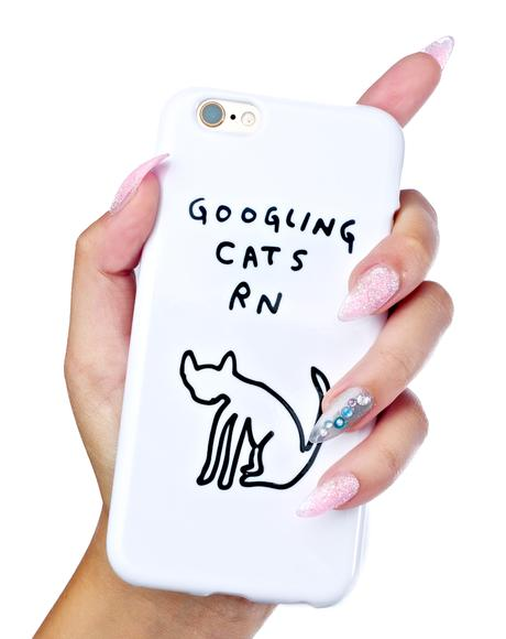 Cat Watch iPhone 6/6S Case