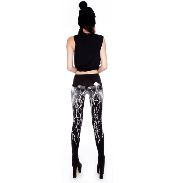 Lip Service Fashion Victim Lightning Leggings