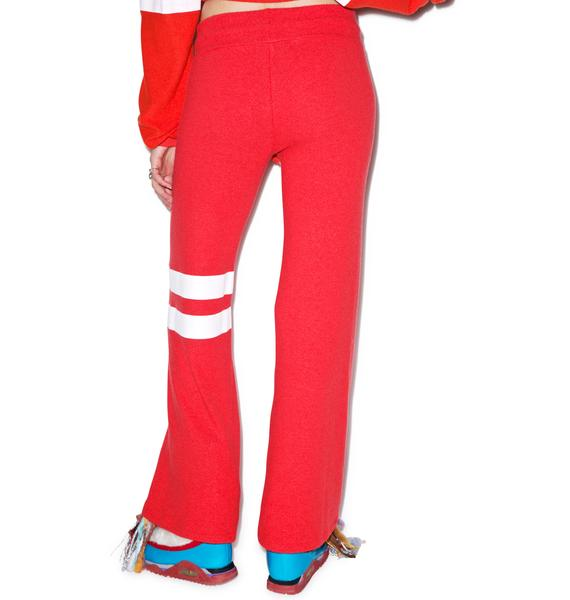 Wildfox Couture Sporty Stripe Baggy Beach Pants