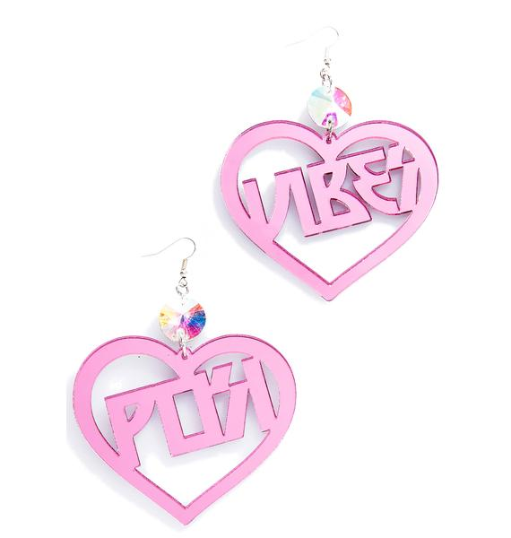 Trixy Starr Posi Vibes Earrings