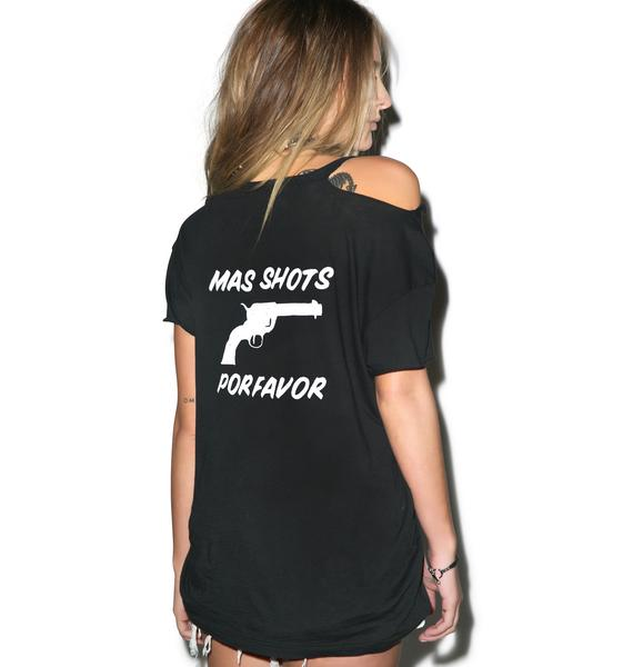Beach Riot Mas Shots Ripped Tee