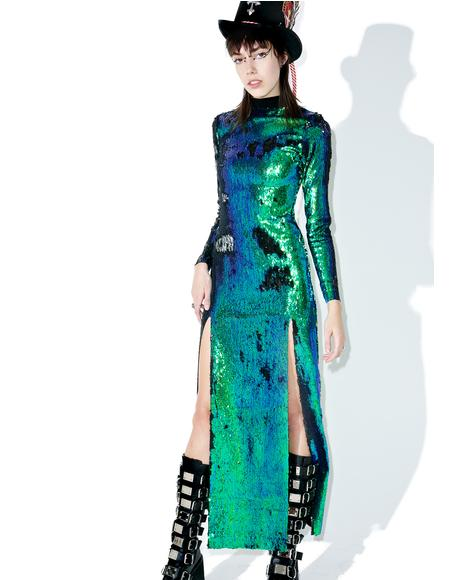 Mermaid Double Split Dress