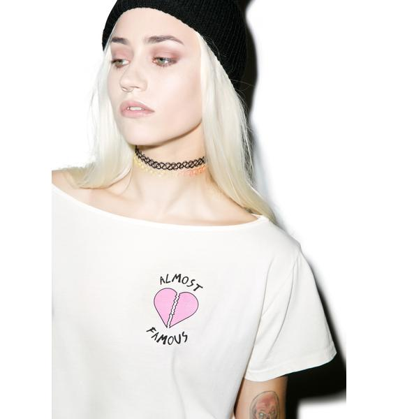 Hips and Hair Almost Famous Cropped Tee