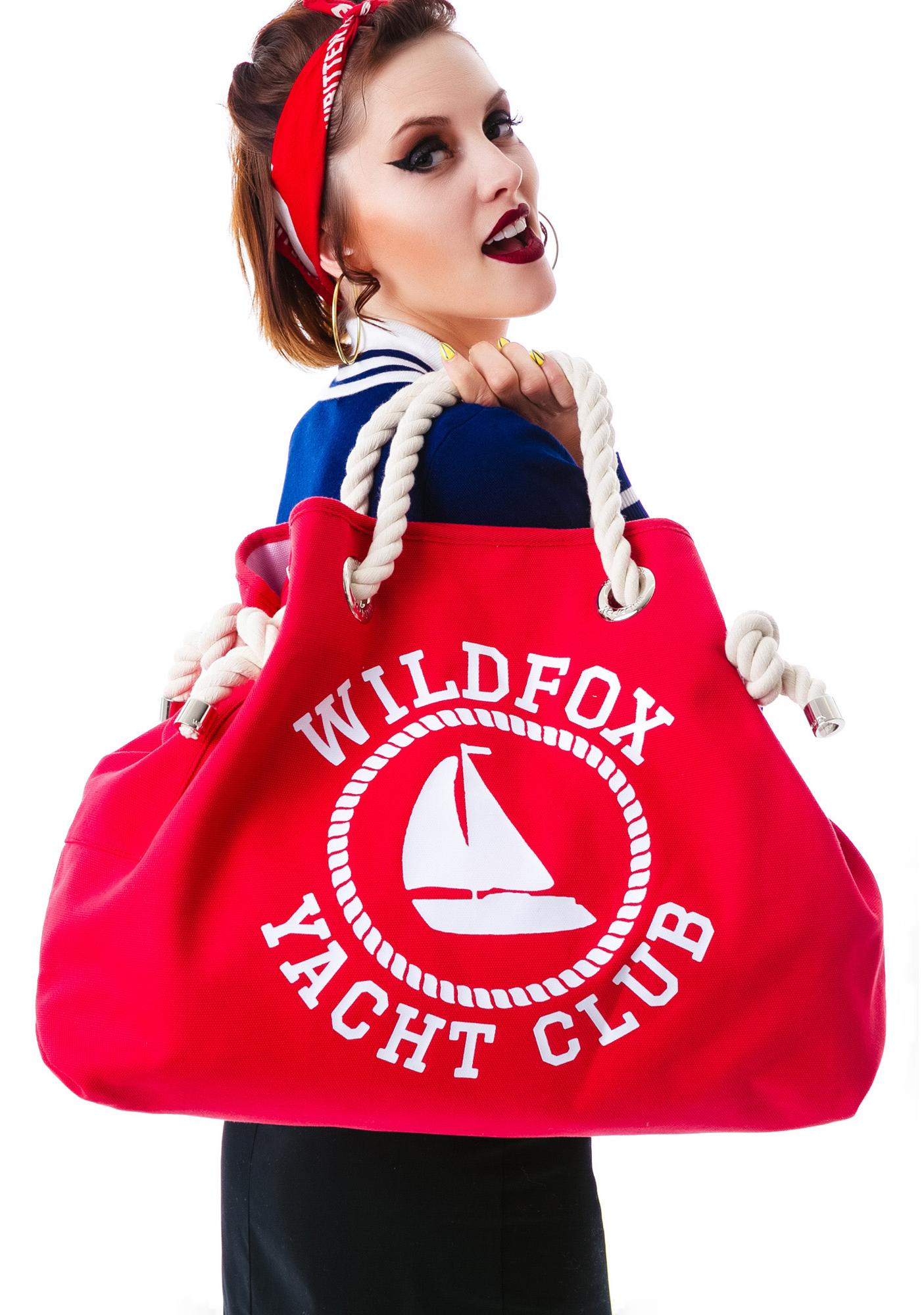 Wildfox Couture Sail On Reversible Beach Bag