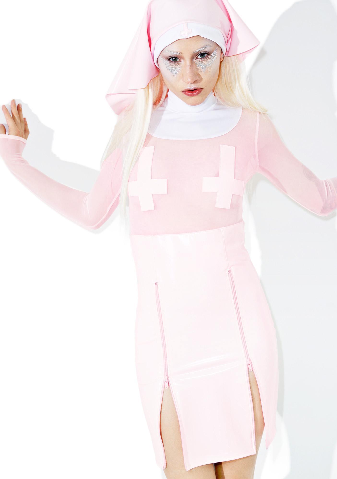 Dolls Kill Mama Don't Preach Costume