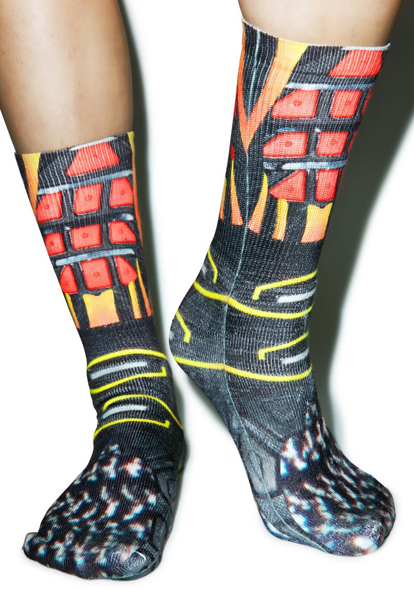 SOWET Tuned Red Socks