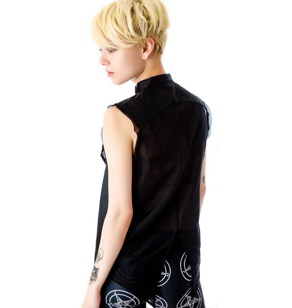 Kill City Motorpsycho Racer Collar Vest