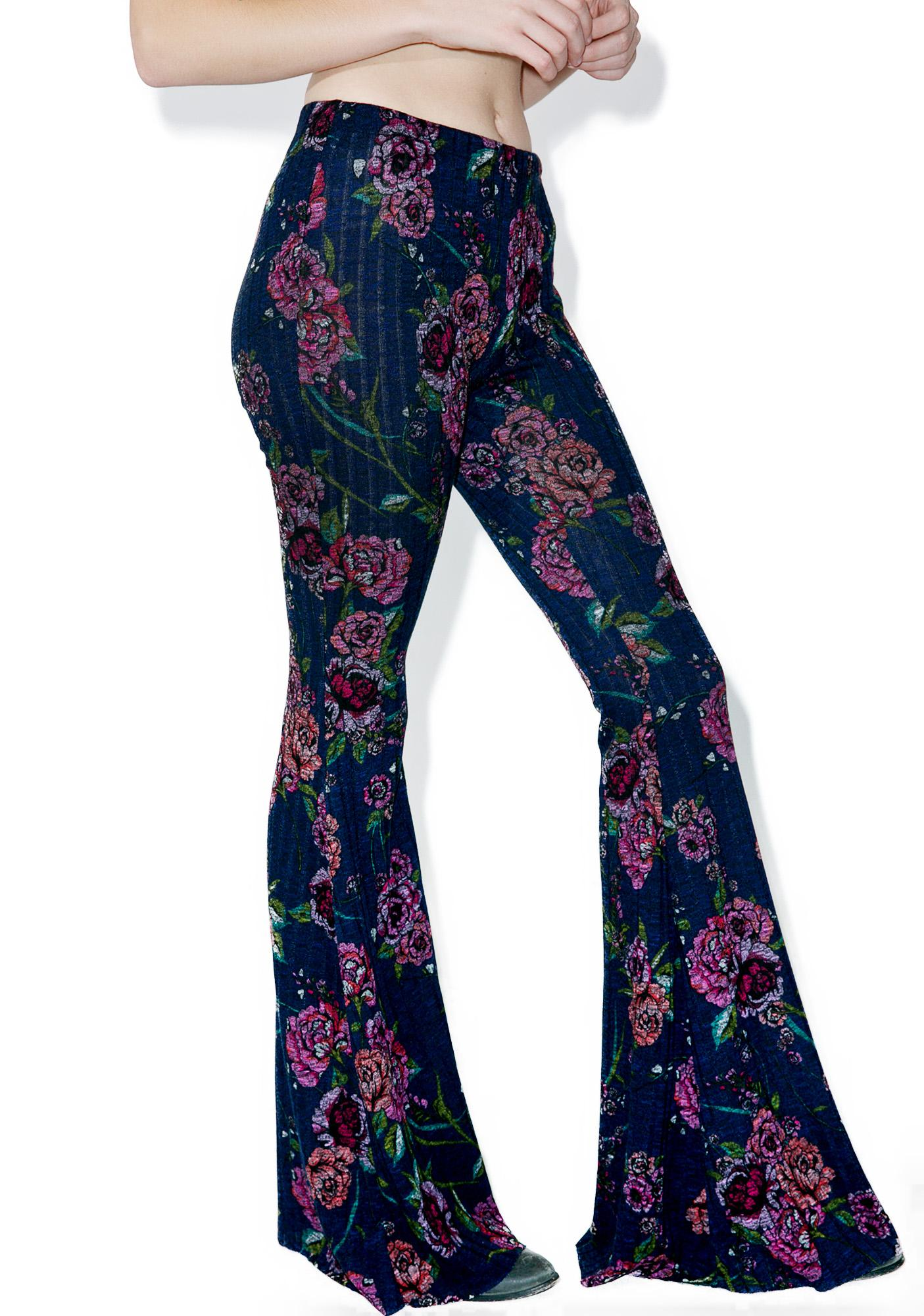 Dusk Garden Bell Bottoms