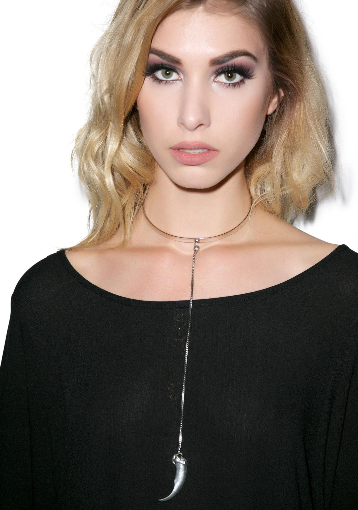 Vanessa Mooney The Anastasia Silver Choker