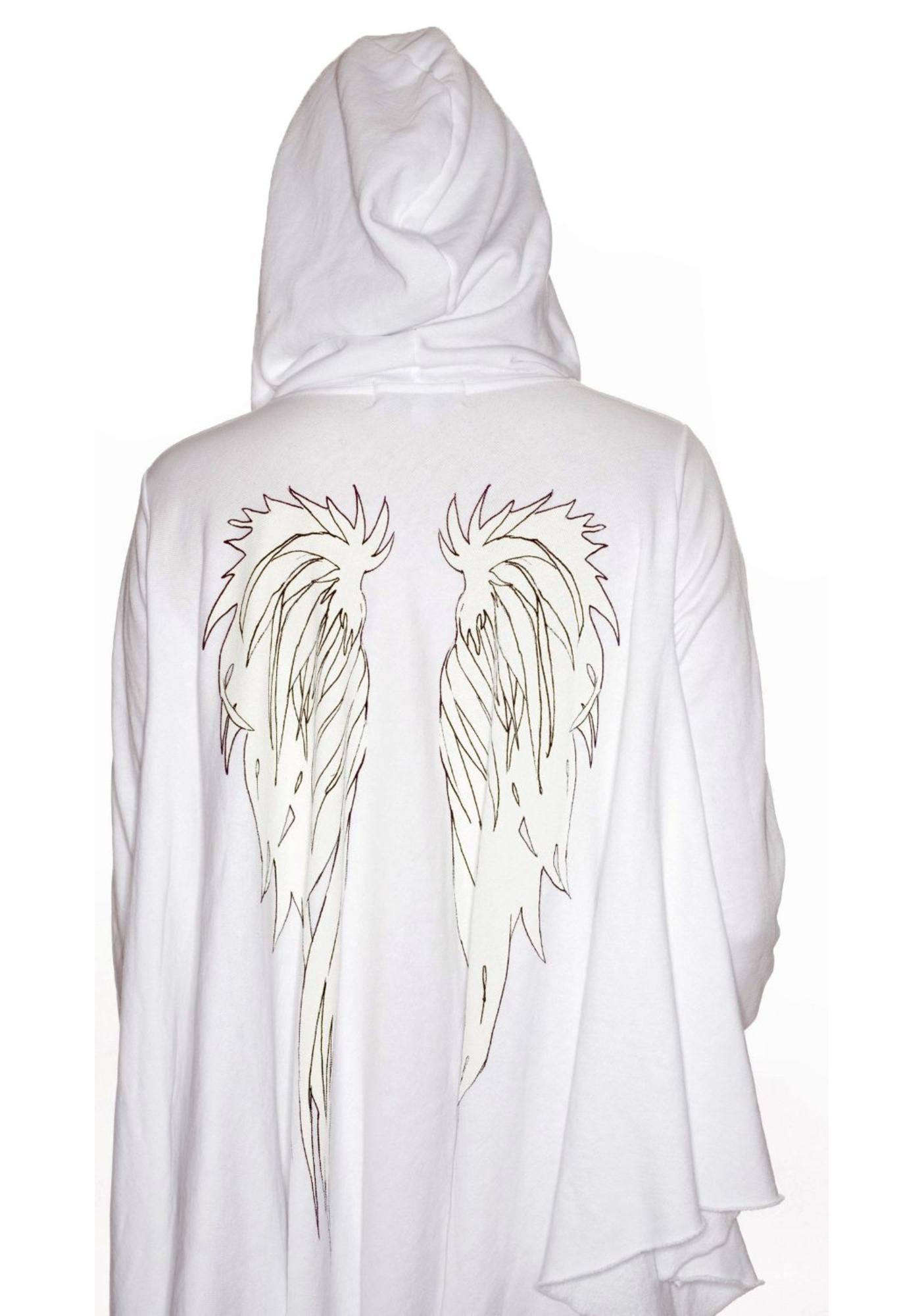 Wildfox Couture Heaven Sent Angel Hoodie