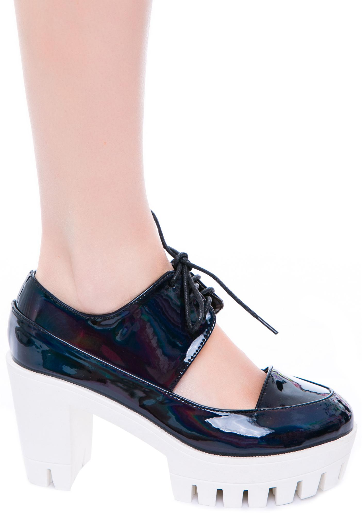 Privileged Paramour Oxford Heel