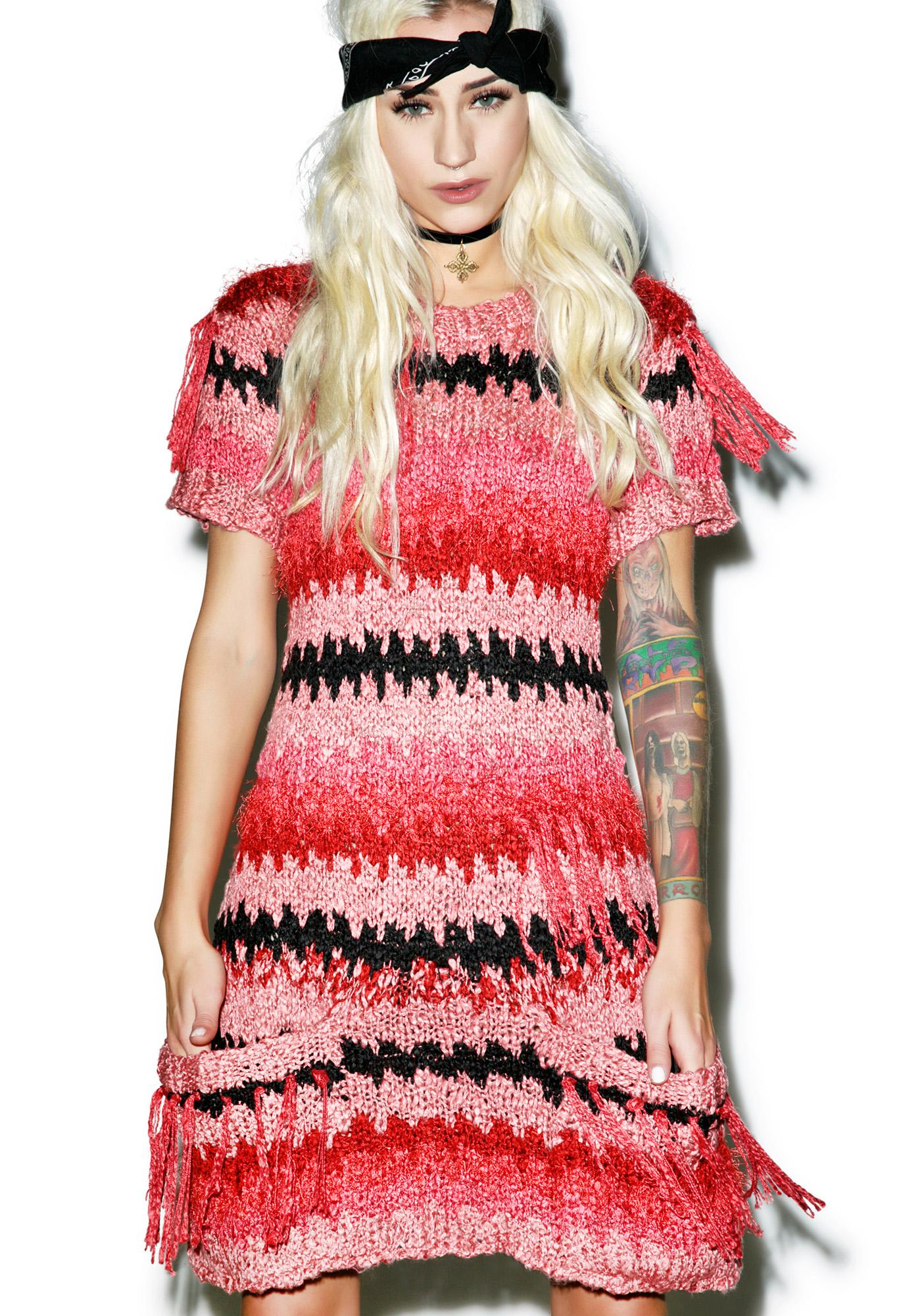 For Love & Lemons Crosby Fringe Dress