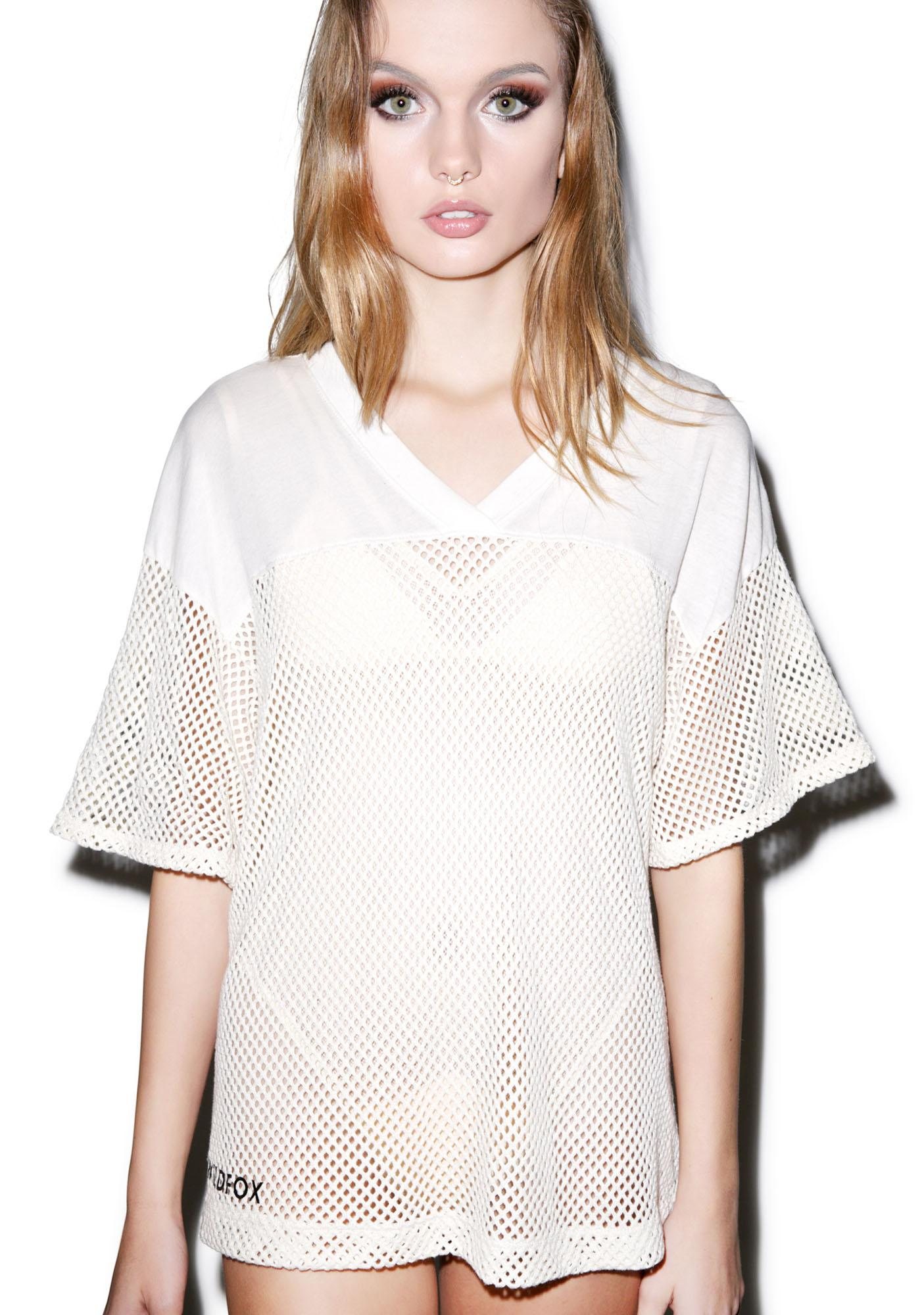 Wildfox Couture Classic Fox Mesh Jersey