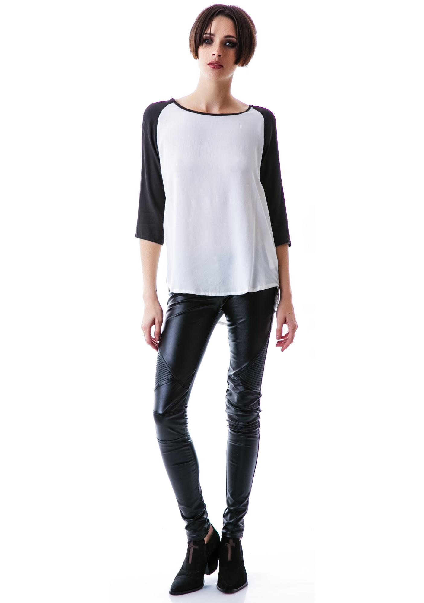 Mink Pink Back To Basics Top