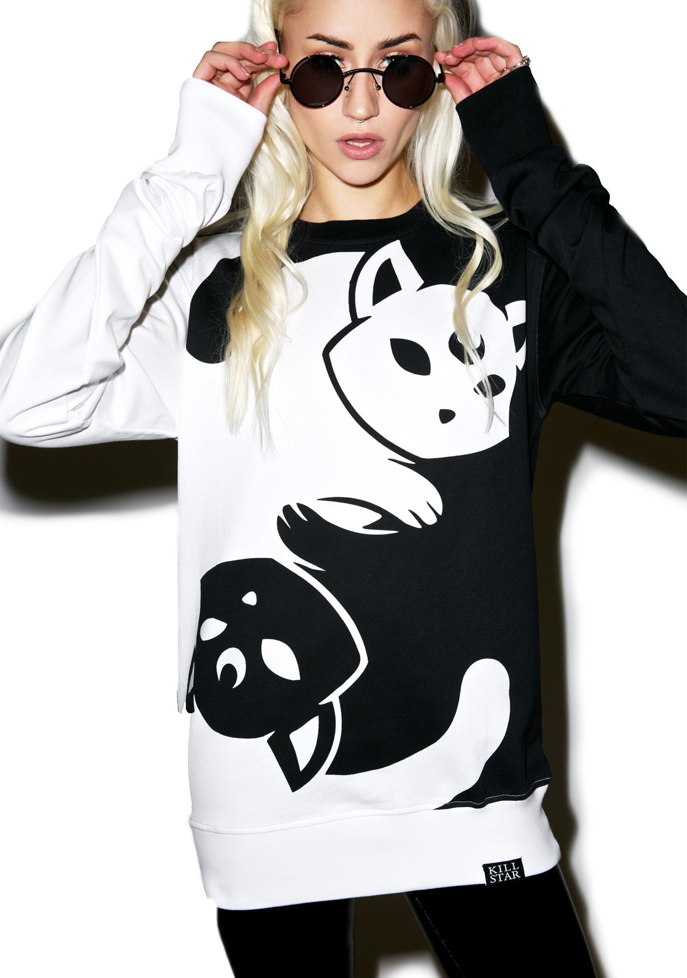 Killstar Yin Yang Sweatshirt