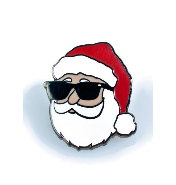 Chill Santa Pin