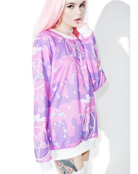 Pentagram Princess Sweatshirt