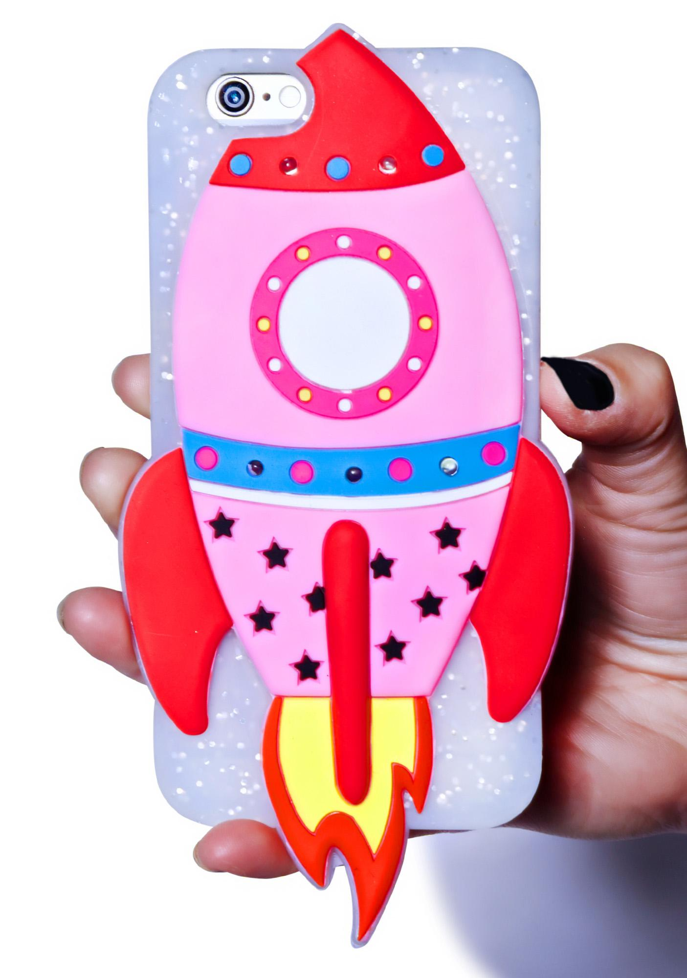 Skinnydip Light Up Rocket iPhone 6 Case