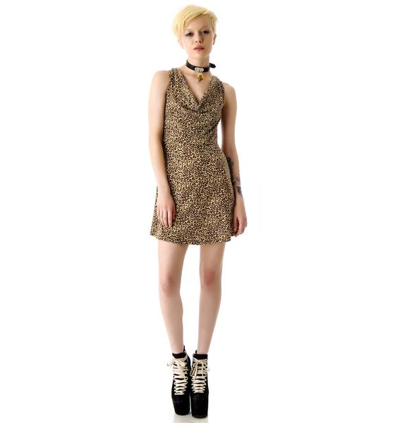 Sourpuss Clothing Skull Cut Out Dress