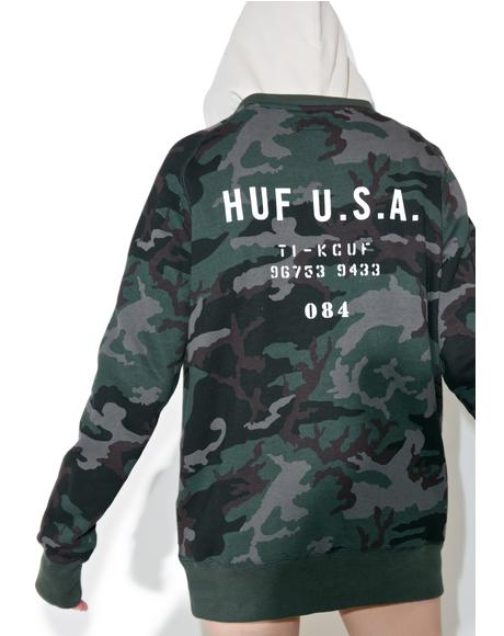 Basic Training Crewneck