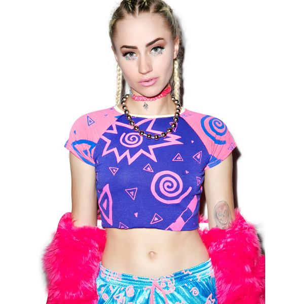 Mamadoux League Crop Top